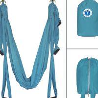 Гамак для йоги YogaAngels голубой