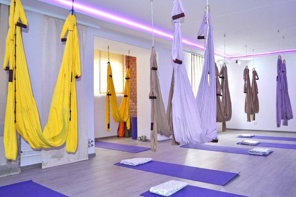 Студия йоги на Бушмакина